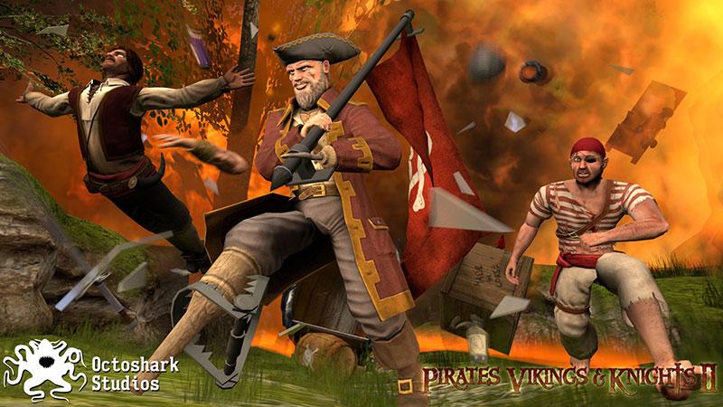 Pirates, Vikings and Knights II